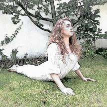 yoga asana, Kobra
